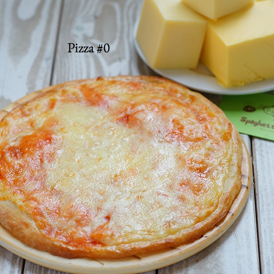 Pizza #0 - Cheese Addict