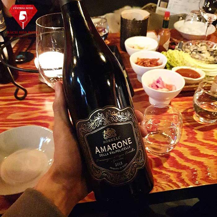 Vang Ý Amarone della Valpolicella cao cấp sang tọng