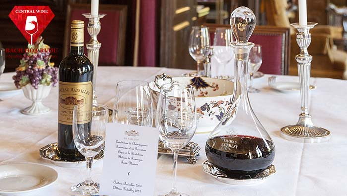 rượu vang chateau batailley pauillac grand cru classe