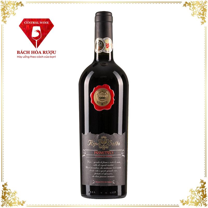 Rượu vang Ripa di Sotto Primitivo