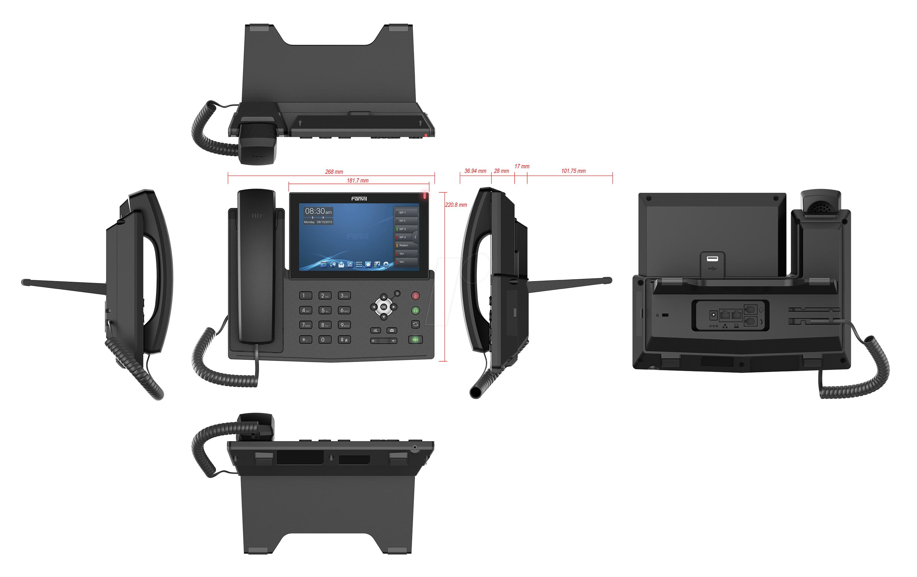 Điện thoại IP Fanvil X7 3