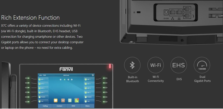 điện thoại IP Fanvil X7C 3