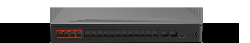 Tổng đài IP / VoIP Yeastar S412 mặt sau