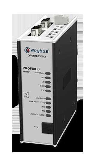 Anybus X-gateway IIoT – PROFIBUS Master - OPC UA-MQTT - AB7550