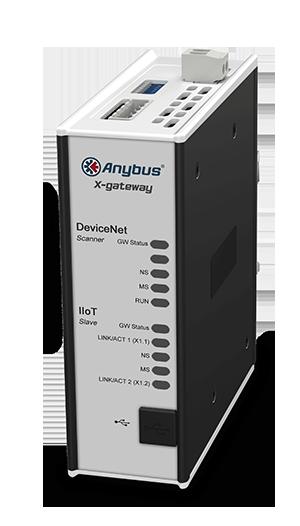 Anybus X-gateway IIoT – DeviceNet Scanner - OPC UA-MQTT - AB7551-F