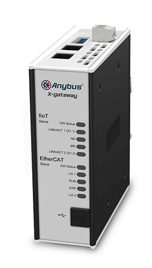 Anybus X-gateway IIoT – EtherCAT Slave - OPC UA-MQTT - AB7556