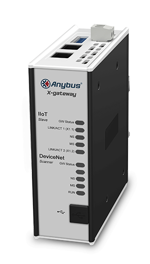 Anybus X-gateway IIoT – DeviceNet Adapter - OPC UA-MQTT - AB7559-F