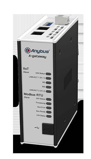 Anybus X-gateway IIoT – Modbus RTU Slave - OPC UA-MQTT - AB7561