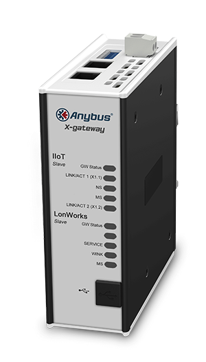 Anybus X-gateway IIoT - Lonworks Slave – OPC UA-MQTT - AB7563-F