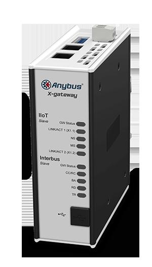 Anybus X-gateway IIoT - Interbus CU Slave – OPC UA-MQTT - AB7566-F