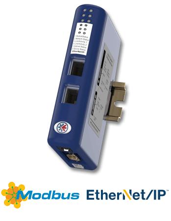 Anybus Communicator EtherNet/IP or Modbus-TCP - AB7072-B