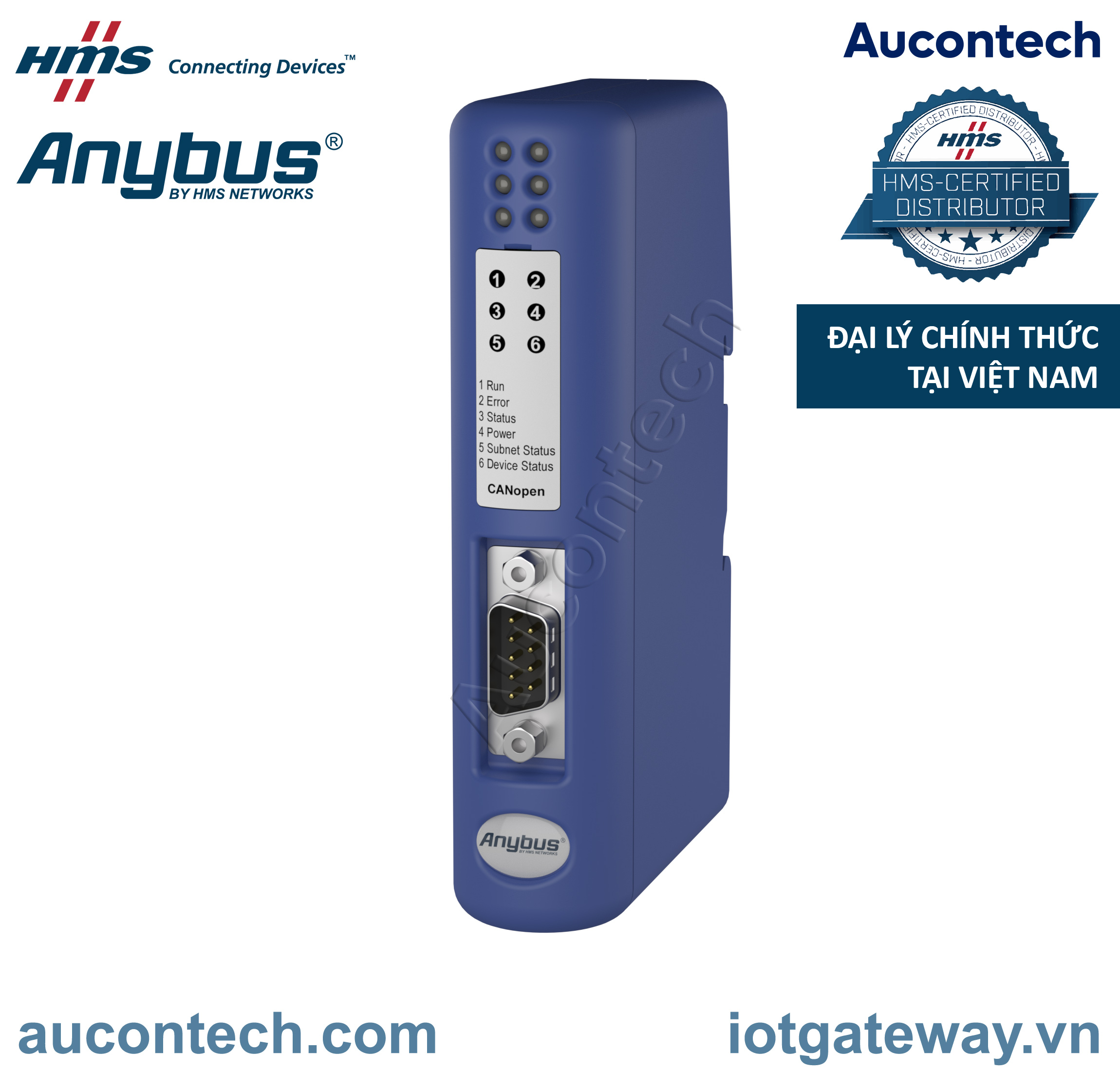 Anybus Communicator CAN - CANopen - AB7315-B - Anybus Vietnam