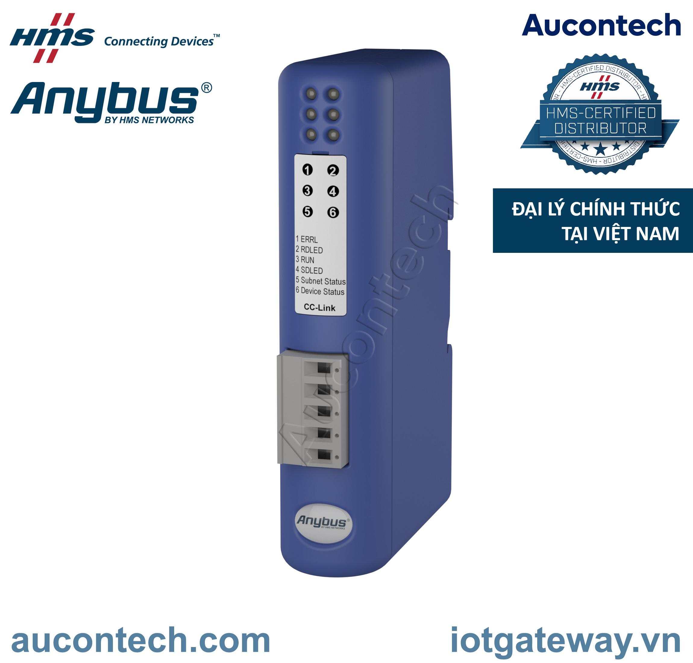 Anybus Communicator CAN - CC-Link - AB7321-B - Anybus Vietnam
