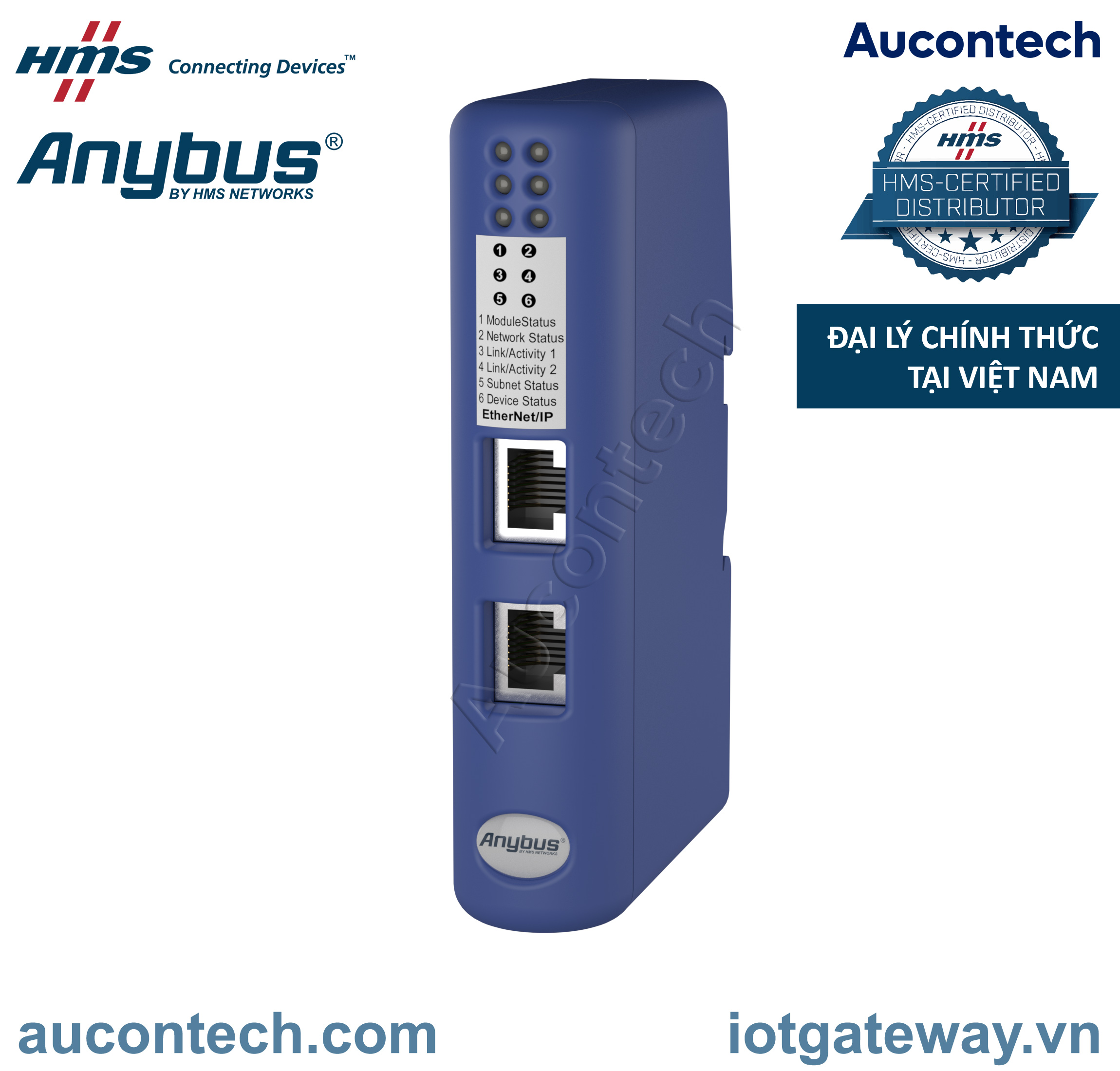 Anybus Communicator CAN - Ethernet IP - AB7318-B - Anybus Vietnam