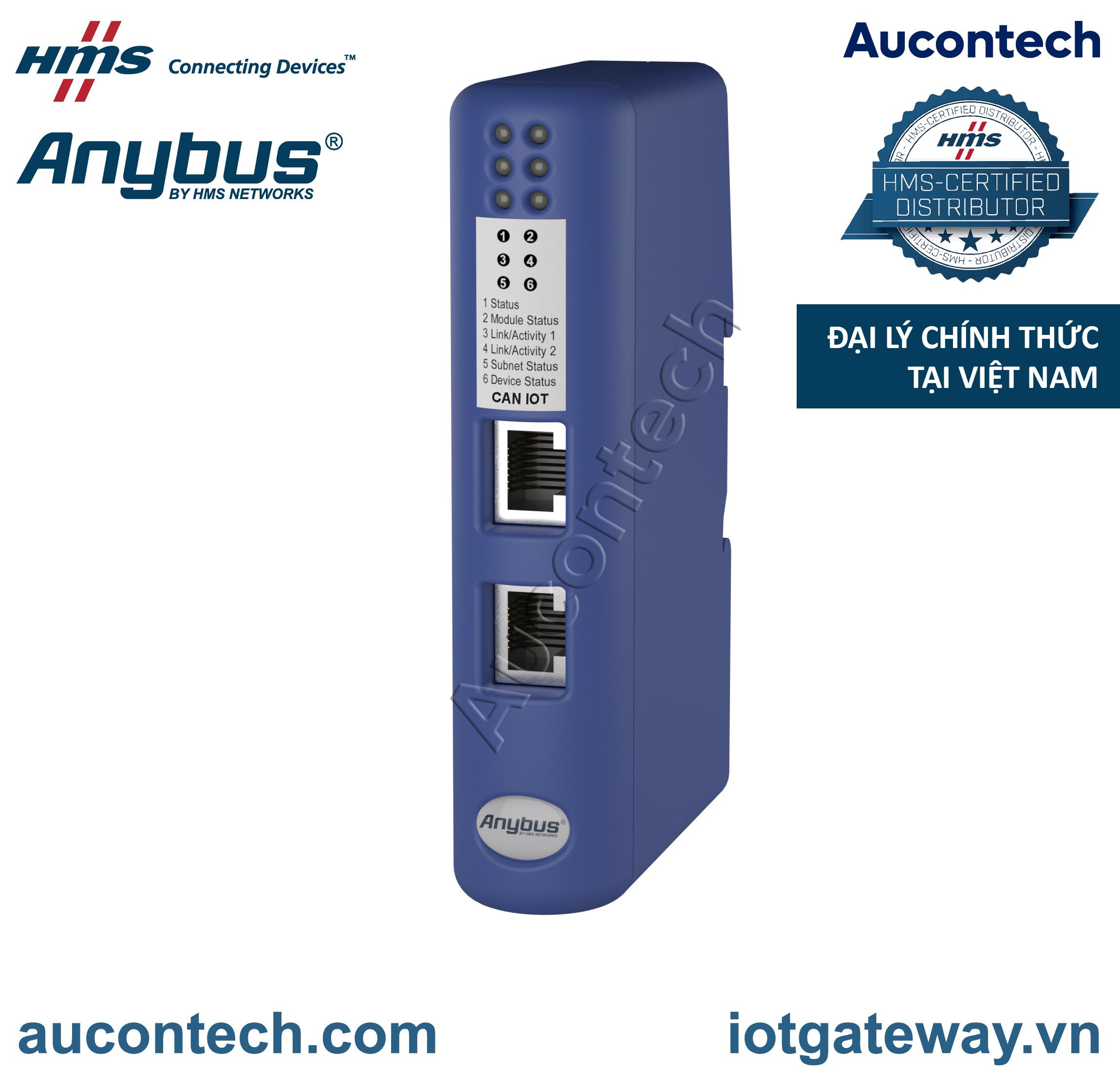 Anybus Communicator CAN - IIoT MQTT and OPC-UA - AB7330 - Anybus Vietnam