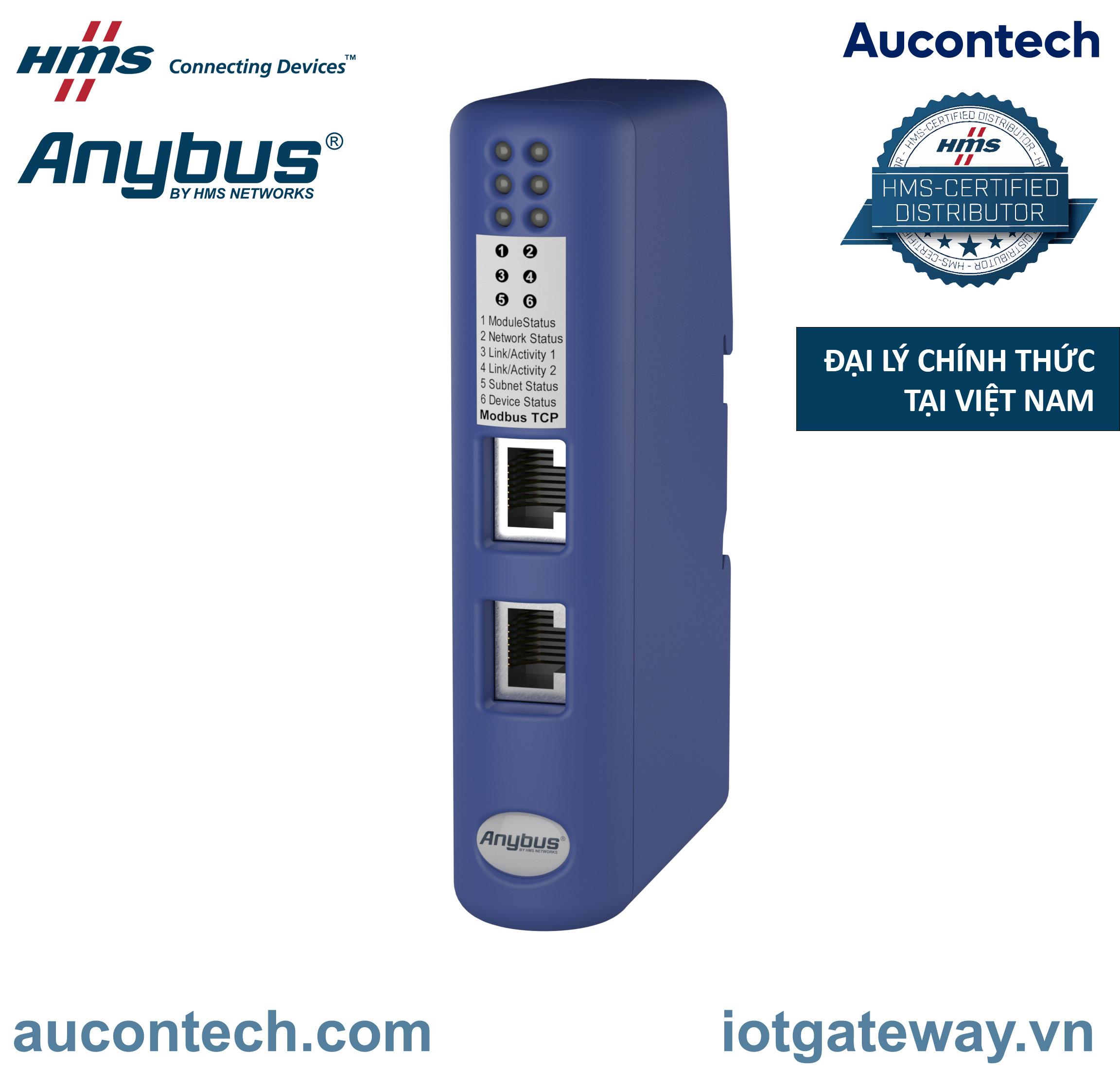 AB7319 - Bộ chuyển đổi giao thức CAN - Modbus TCP -  Anybus Communicator CAN - Modbus TCP