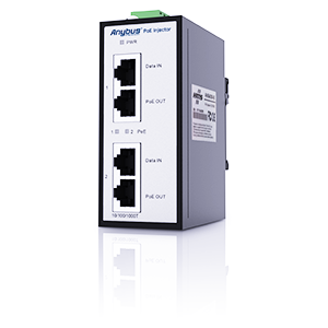 AWB4006 - Anybus PoE Injector 12-57VDC
