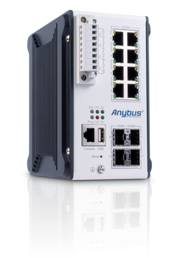 Anybus Wireless Managed L3 Switch for Industrial Applications
