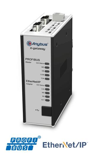 PROFIBUS Master - EtherNet/IP Adapter - AB7800-F
