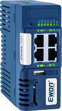 Ewon Cosy 131 ETH - 4 cổng Ethernet (3 LAN + 1 WAN) - EC61330_00MA - eWon Việt Nam