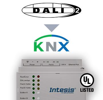 INKNXDAL0640200- DALI to KNX TP Gateway - 1 channel