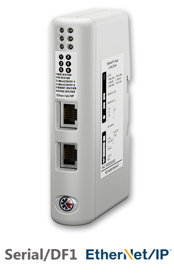 EtherNet/IP to Serial Linking Device - HMS-EN2SE-R