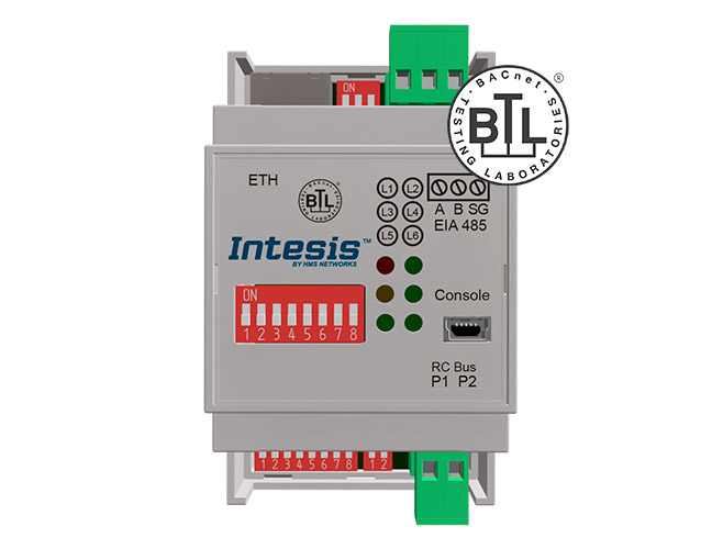 Daikin VRV and Sky systems to BACnet IP/MSTP Interface - INBACDAI001R000