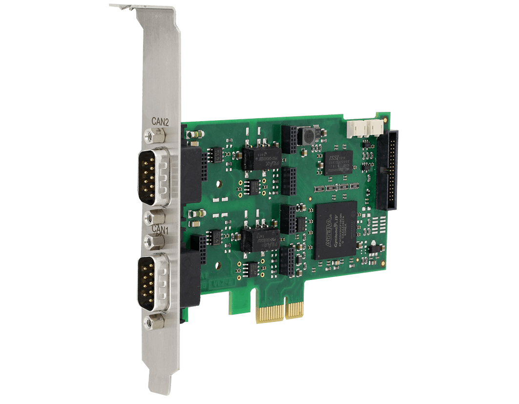 CAN-IB100/PCIe (1-4 x CAN (HS/LS))