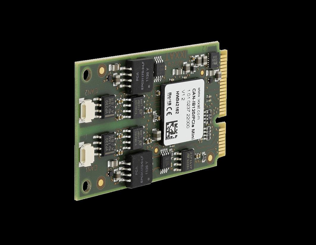 CAN-IB120/PCIe Mini (1-2 x CAN)
