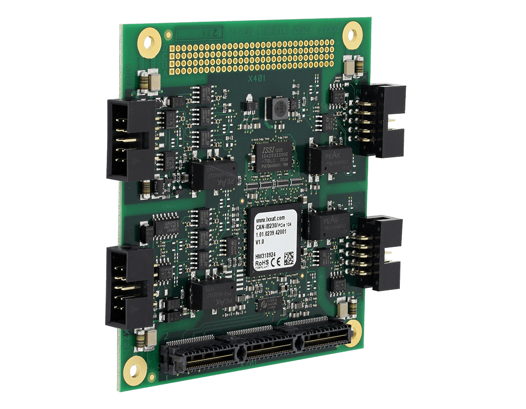 CAN-IB630/PCIe 104