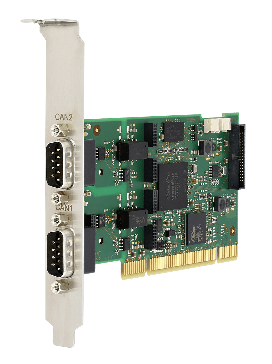 CAN-IB400/PCI (1-4 x CAN (High-/Low-Speed), LIN)