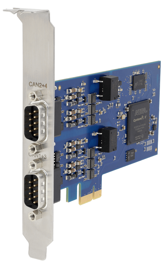 CAN-IB640/PCIe (4 CAN FD/CAN and 4 LIN)