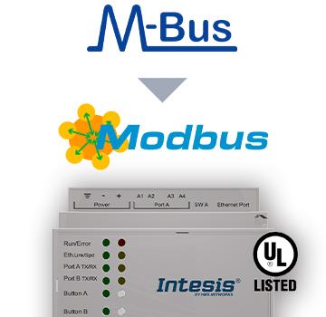 INMBSMEB0100000 - M-BUS to Modbus TCP & RTU Server Gateway - 10 devices