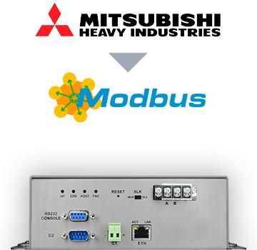 INMBSMHI048O000 - Mitsubishi Heavy Industries VRF systems to Modbus TCP/RTU Interface - 48 units