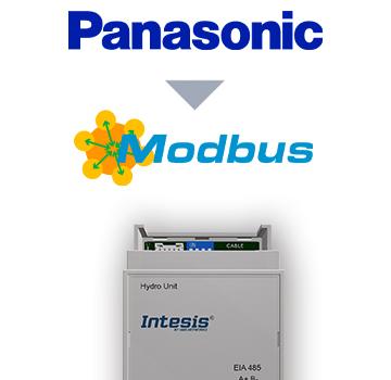 INMBSPAN001A000 - Panasonic Air to Water (Aquarea H) to Modbus RTU Interface - 1 unit