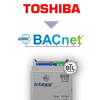Toshiba VRF and Digital systems to BACnet MSTP Interface