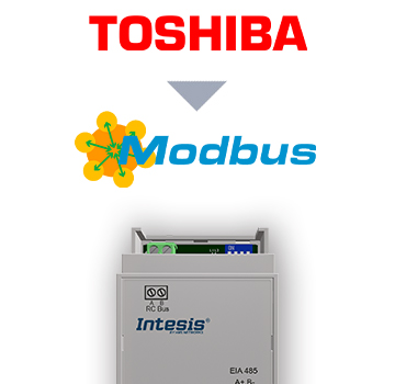 Toshiba VRF and Digital systems to Modbus RTU Interface