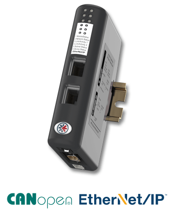 AB7306  - Anybus X-gateway – CANopen Master – EtherNet/IP Adapter