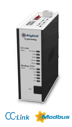 CC-Link Slave - Modbus TCP Server - AB7643-F