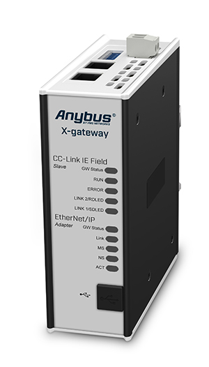 Anybus X-gateway – CC-Link IE Field Slave - EtherNet/IP Adapter - AB7956