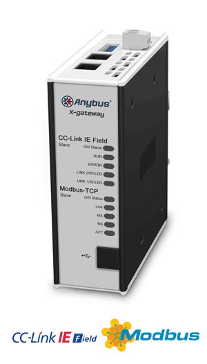 CC-Link IE Field Slave - Modbus TCP Server - AB7958-F