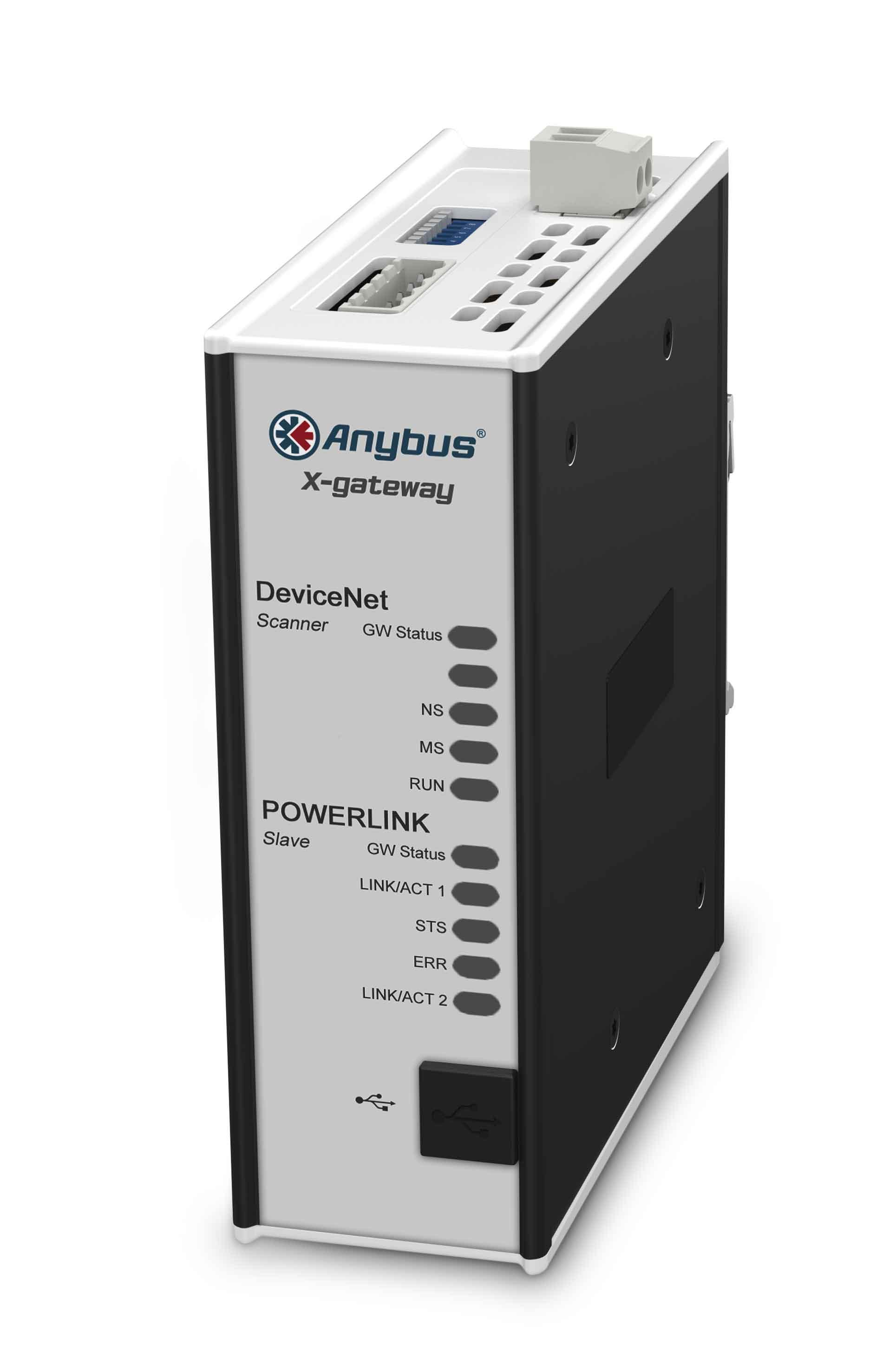 DeviceNet Scanner - POWERLINK Device - AB7522-F