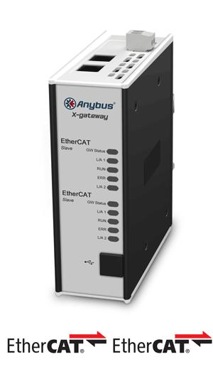 AB7900 - Anybus X-gateway – EtherCAT Slave - EtherCAT Slave