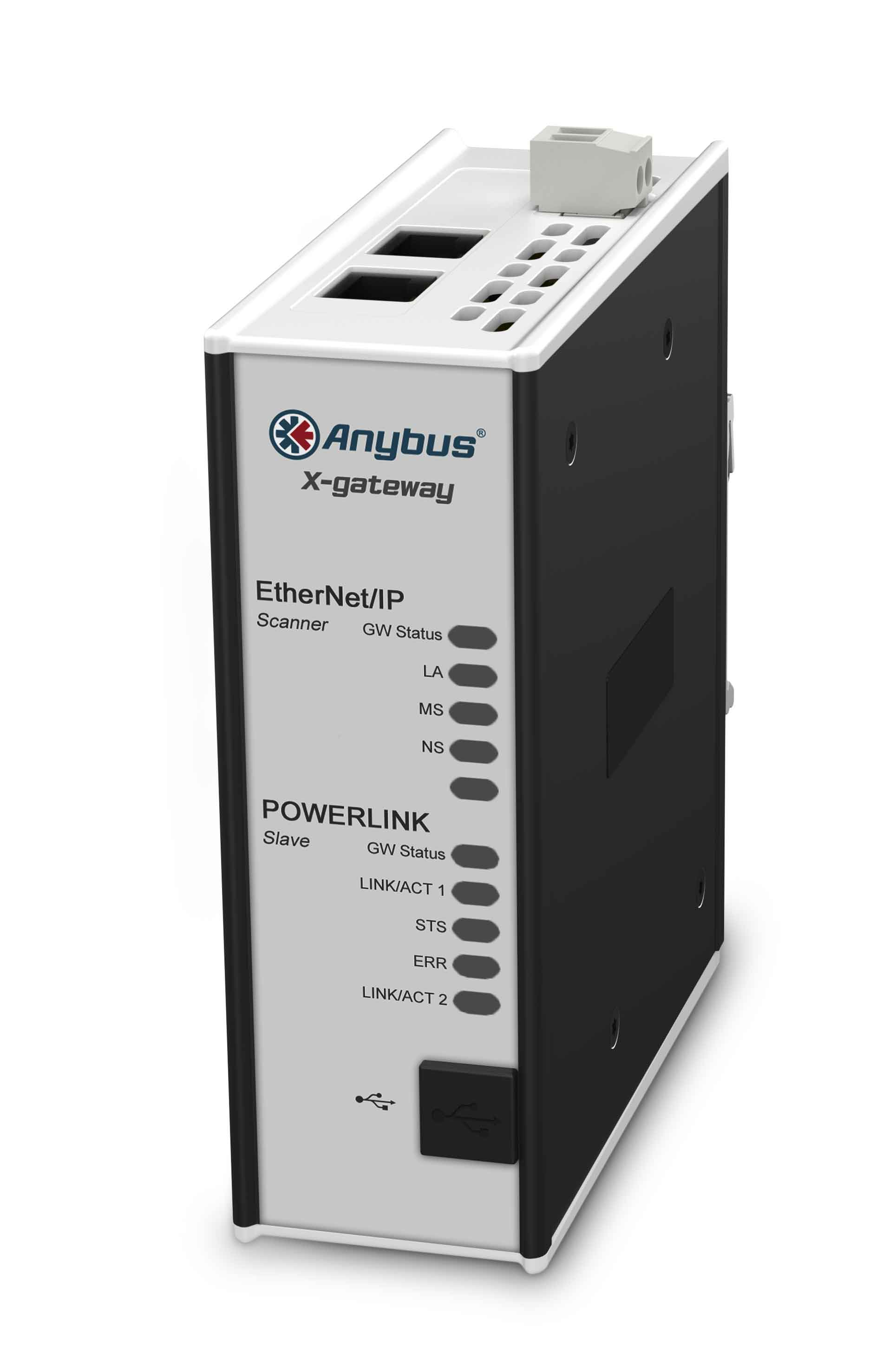 EtherNet/IP Scanner - POWERLINK Device - AB7524-F