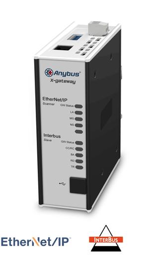EtherNet/IP Scanner - Interbus CU Slave - AB7676-F
