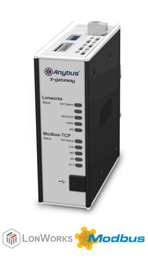 Lonworks Slave - Modbus TCP Server - AB7644-F