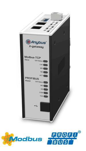 PROFIBUS Master – Modbus TCP Server - AB7629-F