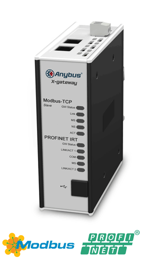 Modbus TCP Server - PROFINET-IRT Device - AB7505-F