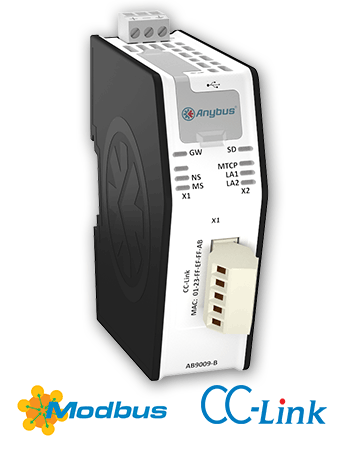 Modbus TCP Client - CC-LinkSlave - AB9009-B