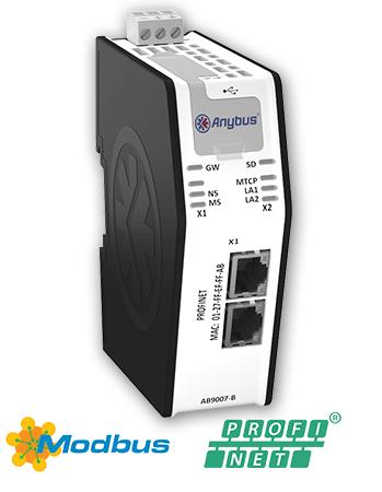 Anybus X-gateway - Modbus TCP Client - PROFINET-IO Device - AB9007-B - Anybus Vietnam